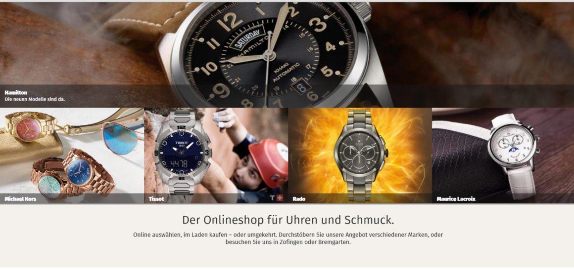 Schmuck shop schweiz  Zeitshop - Der neue Online Uhren Shop der Schweiz - Presse-Zentrum