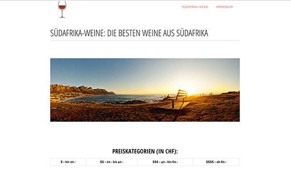 Die besten Weine aus Südafrika