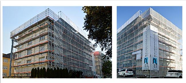 Sanierung an einem Haus ausgeführt vom Generalunternehmen PP Baumanagement AG Kiens / Luzern
