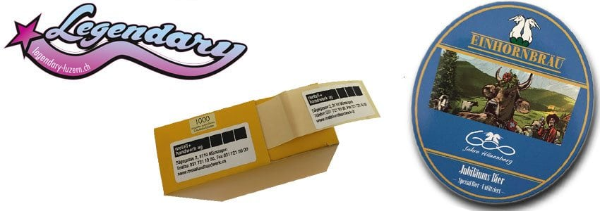 etiketten druck kleberdruck