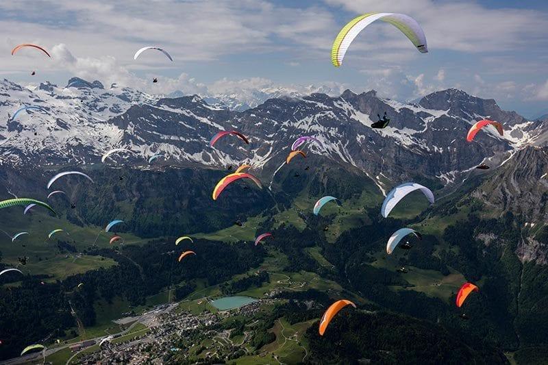 Gleitschirmflug Paragliding Luzern