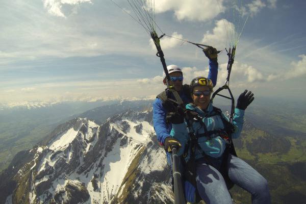 Paragliding Gleitschirmfliegen Tandemflug
