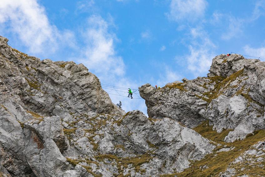 Klettern auf dem Brunni bei Engelberg