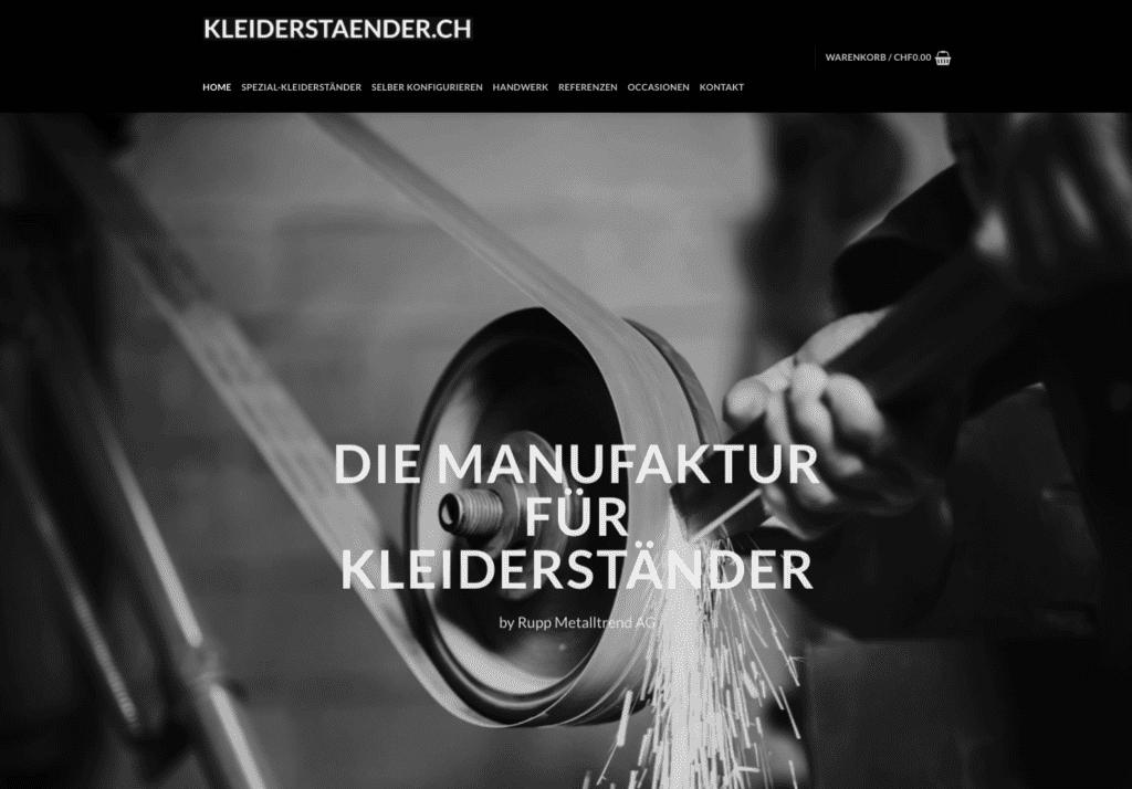 Kleiderständer Online shop Schweiz