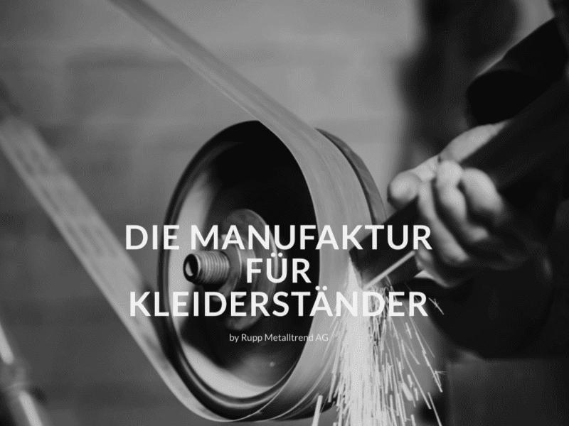 Kleiderständer Schweizer Qualität Swiss made