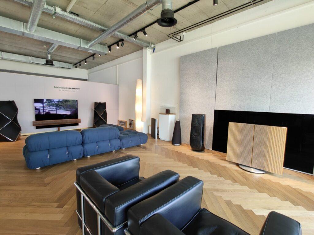 tonbildspinnerei high-end audio tv zug showroom